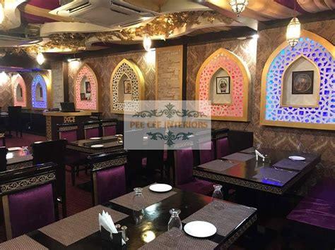 mughal theme restaurant  pee cee interiors