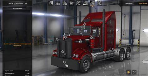 kenworth  truck mod ats mod american truck