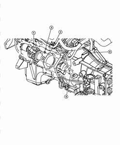 2008 Dodge Magnum Bracket  Wiring  Starter Wiring  Engine  Mpi