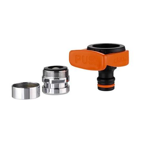 raccord robinet cuisine adaptateur mitigeur ou robinet pour raccord rapide