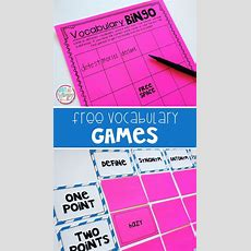 10 Games To Play With Any Vocabulary Words  Not So Wimpy Teacher Blog  Teaching Vocabulary