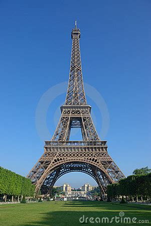 front   eiffel tower stock photography image