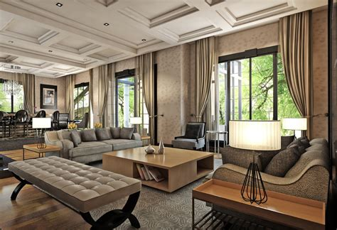 home interior items three contrasting home designs