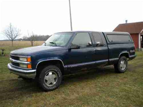 auto air conditioning service 1998 chevrolet suburban 1500 electronic valve timing buy used 1998 chevrolet 4 x 4 extended cab pickup truck for repair or parts runs drives in grand
