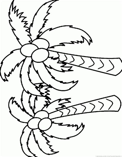 coloring coconut coconut coloring pages