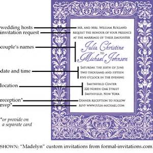 wording for wedding invitations wedding invitation wording and etiquette invitation ideas