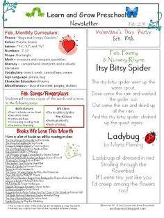 1000 ideas about preschool newsletter on 937 | efc4b3188e7fa968185deae1f78e3e82