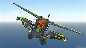 CAT FLYING A PLANE MECH!? (Simple Planes) - YouTube