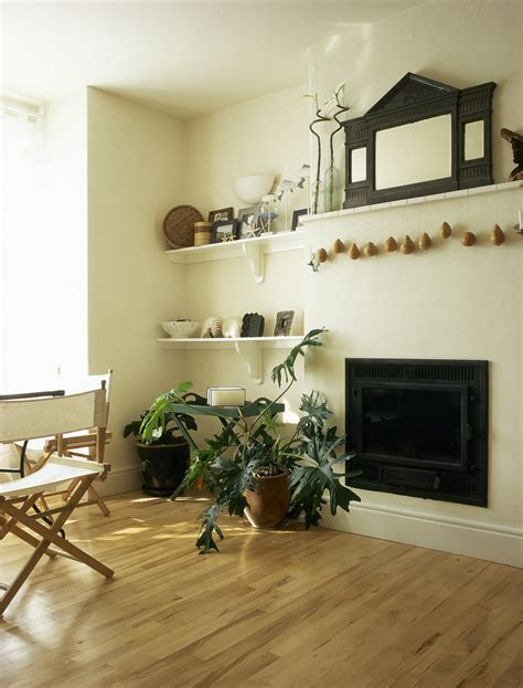 bookcases   sides  fireplace  design ideas