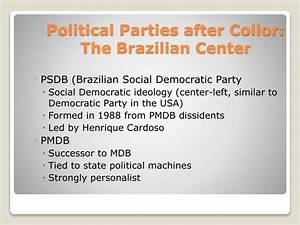PPT - Brazilian Political Parties The Struggle to ...