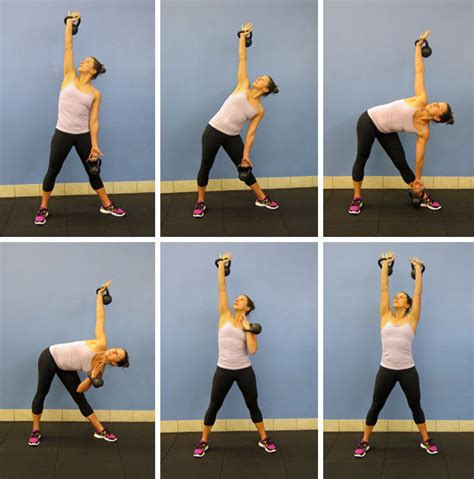 kettlebell windmill exercises crunches abs weight moves exercise fitness bell tone loss popsugar workout waist without double workouts arm kettle