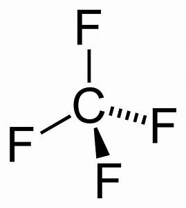 File Tetrafluoromethane-2d Png