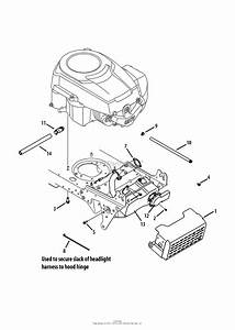 Mtd 13ax79st299  247 28889   Lt2500   2013  Parts Diagram