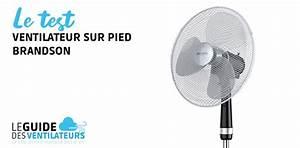 Ventilateur Silencieux Sur Pied : ventilateur sur pied brandson notre test et avis complet ~ Dailycaller-alerts.com Idées de Décoration