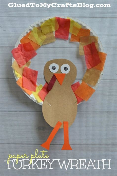 turkey kid crafts roundup thanksgiving preschool