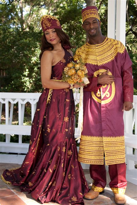 african traditional wedding dress