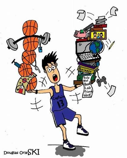 Clipart Athlete Student Athletic Athletes Management Balance