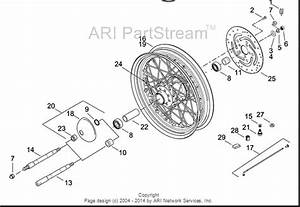 2000 Heritage Springer Front Axle Diagram