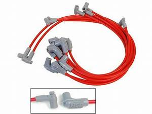 For 1975 Chevrolet Bel Air Spark Plug Wire Set Msd 92768mr