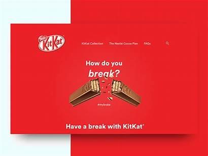 Kitkat Dribbble Hero Animated Duffy Animation