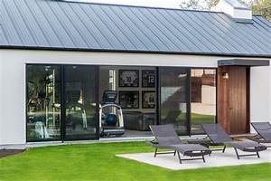 Pool House Gets A Modern Makeover With Quaker Windows