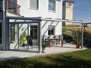 Uberdachung terrasse grau von wintergarten schmidinger in for überdachung terrasse glas