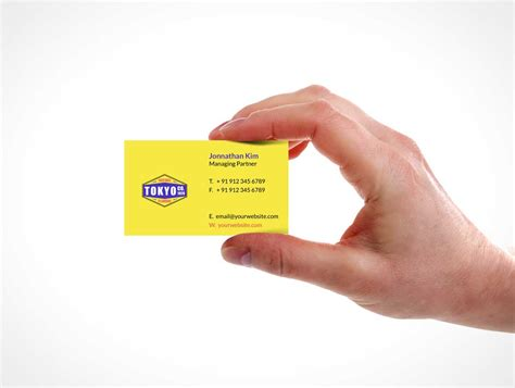 business card  hand choice image business card template