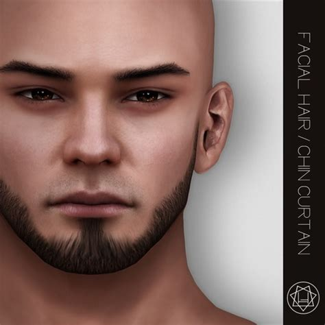 Chin Curtain Beard Personality by The Gallery For Gt Chin Hair Styles