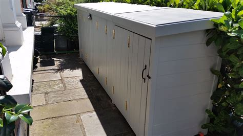 Storage Shed Companies by Combined Bike And Bin Storage Only From The Bike Shed