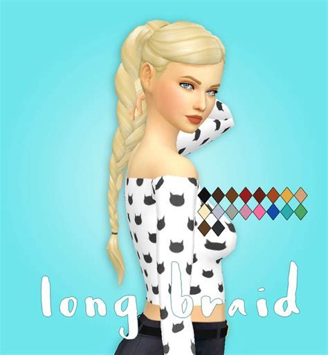 37 best THE SIMS 4 CC MM: HAIRS images on Pinterest