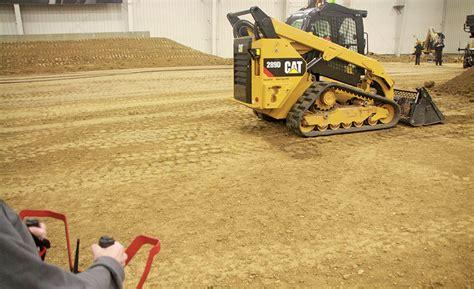cat unveils remote controlled skid steer  dangerous work    enr