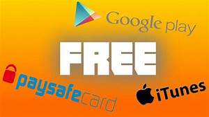 [TUTORIAL] HOW TO GET FREE PAYSAFE, ITUNES AND GOOGLE PLAY ...