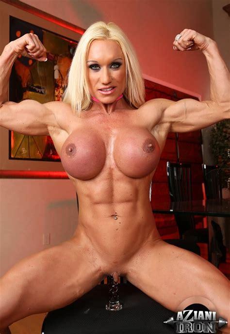 Very Sexy Muscle Pornstar Brandi Mae Teasing In Lingerie