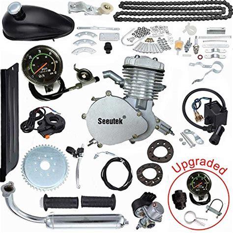 seeutek pk80 80cc bicycle engine kit 2 stroke gas motorized import it all