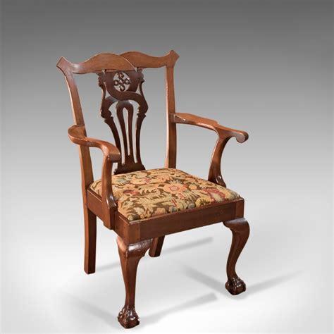Antique Armchair by Antique Chippendale Revival Armchair C 1880