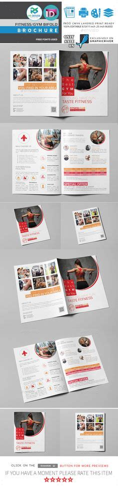 fitness brochures images card templates