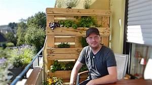 Blumenregal Selber Bauen : blumen und kr uterbeet selber bauen aus paletten youtube ~ Orissabook.com Haus und Dekorationen