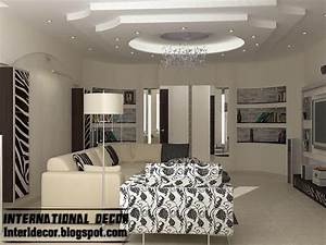 Modern false ceiling designs for living room 2017 for Gypsum ceiling designs for living room