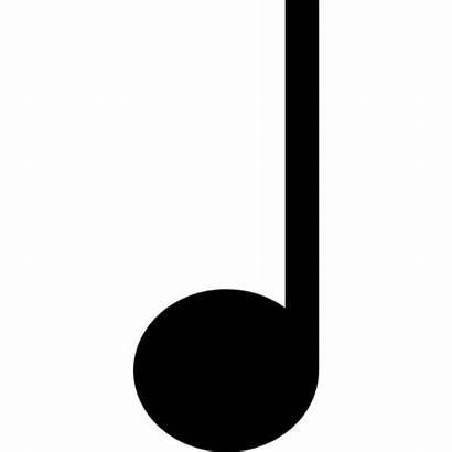 Note Crotchet Icon Quarter Musical Notes Semibreve