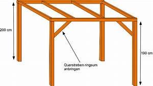 Pergola Bauanleitung Pdf : pavillon holz flachdach selber bauen ~ Whattoseeinmadrid.com Haus und Dekorationen