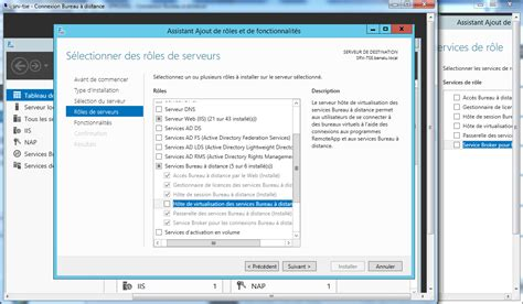 bureau à distance windows server 2012 installation d 39 un serveur bureau à distance sur windows