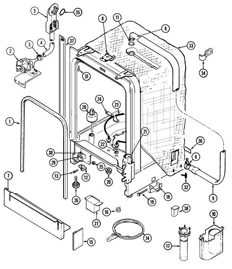 Dishwasher Drawing Getdrawings Free For Personal