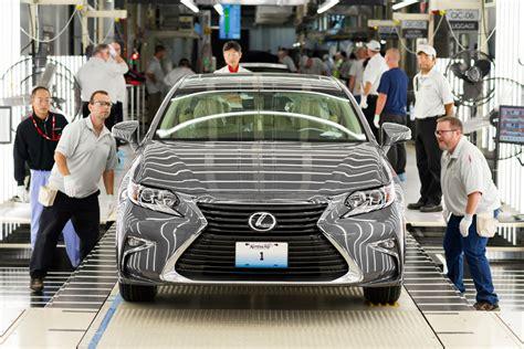 lexus ya fabrica los es en estados unidos motores