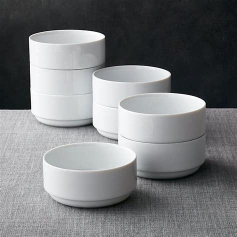 Logan Stacking Bowls, Set of 8   Crate and Barrel
