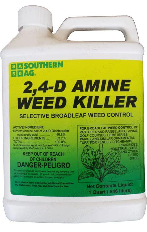 amine weed killer herbicide  quart