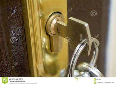 home lock  key stock photography image