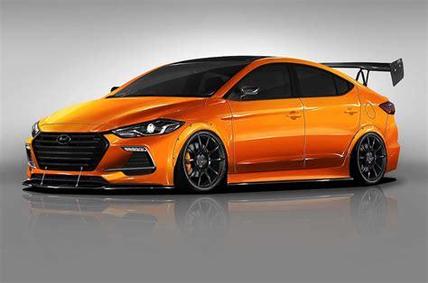 Hyundai Car : Hyundai Btr Edition Elantra Sport Concept Heading To Sema