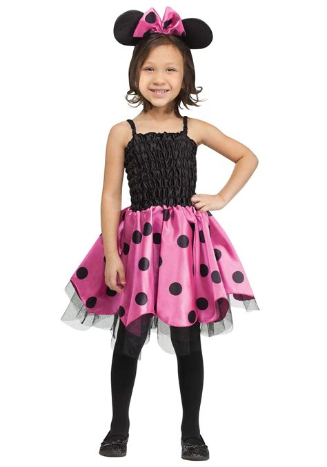58 Minnie Mouse 3t Costume, Nwt Disney Pink Minnie Mouse