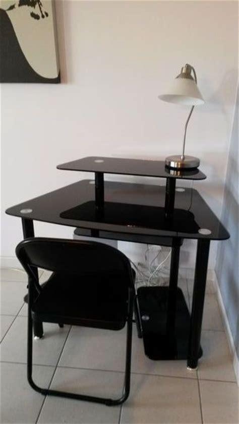 Bureau Ikea Verre Noir by Achetez Bureau Informatique Quasi Neuf Annonce Vente 224