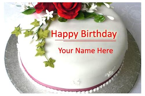 birthday name cake download